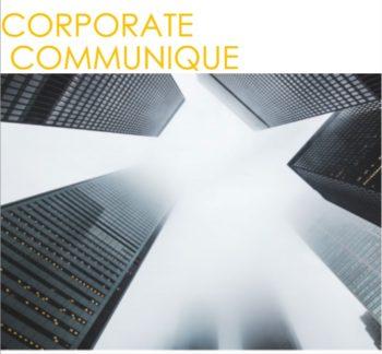 Study Notes - Corporate Communique