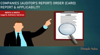 Companies (Auditor's Report) Order, 2020 - CARO