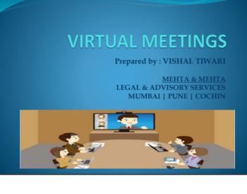 Virtual meetings presentation final